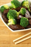 Beef with broccoli Stock Image