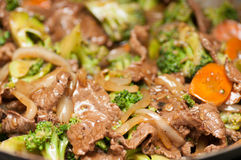 Beef with broccoli Royalty Free Stock Image