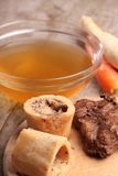 Beef broth Stock Image