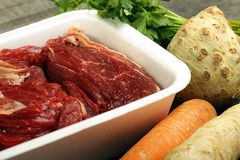 Beef broth Royalty Free Stock Images