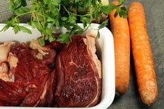 Beef broth Stock Photo
