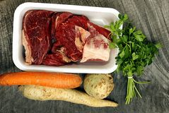 Beef broth Royalty Free Stock Photo