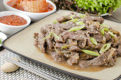 Beef Bulgogi Royalty Free Stock Images