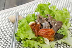 Beef Bulgogi Wrap Royalty Free Stock Photo