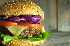 Free Beef Burger Close Up Royalty Free Stock Photos - 62564108