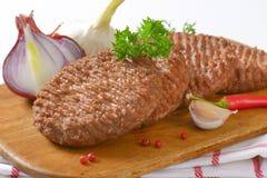 Beef Burger Patties Royalty Free Stock Image