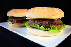 Beef Burger Stock Photo