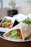 Beef burrito Stock Image