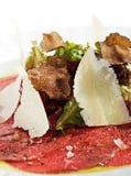 Beef Carpaccio Royalty Free Stock Photography