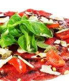 Beef Carpaccio stock image
