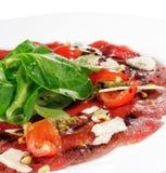 Beef Carpaccio royalty free stock photos