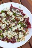 Beef carpaccio Royalty Free Stock Image