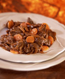 Beef and carrot stew Royalty Free Stock Images