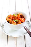 Beef and carrot stew Royalty Free Stock Photos