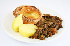 Beef casserole Stock Image