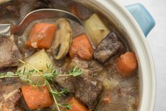 Beef Casserole Royalty Free Stock Image