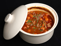Beef Casserole with Vegetables Stock Photos