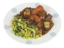 Beef Casserole Royalty Free Stock Photos