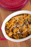 Beef and cheese rotinis pastas Stock Photo