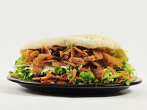 Sandwich front view Royalty Free Stock Photo