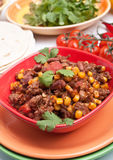 Beef chili Stock Photos