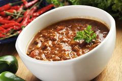 Beef chili Royalty Free Stock Photography