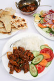 Beef chilli curry meal vertical Stock Photography