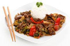Beef chop suey Royalty Free Stock Photo