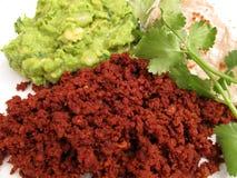 Beef Chorizo Dinner Stock Images