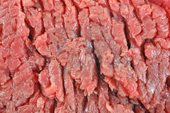Beef Chuck Cubed Steak Stock Images