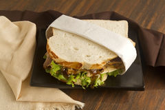 Beef And Chutney Sandwich Stock Images