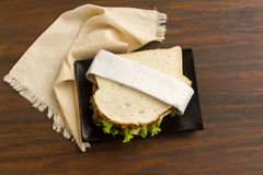 Beef And Chutney Sandwich Royalty Free Stock Photography