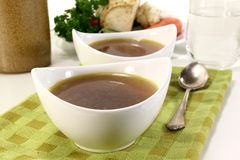 Beef Consomme Royalty Free Stock Image