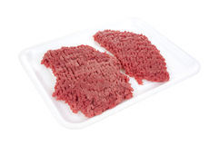 Beef cubed steaks Stock Photography