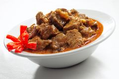 Beef cuisine. Asian cuisine beef cook with curry stock images
