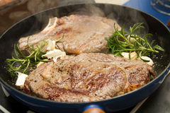 Beef Cutlet Stock Image