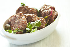 Beef cutlets Royalty Free Stock Images