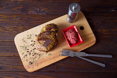 Beef. On the cutting board Stock Photography