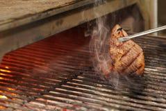 Beef diaphragm - skirt steak Royalty Free Stock Photography