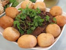 Beef and Dumpling Stock Image