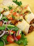 Beef Enchiladas Stock Photo