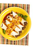 Beef Enchiladas Stock Images