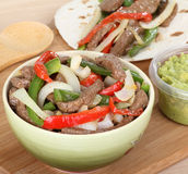 Beef Fajitas Royalty Free Stock Photos