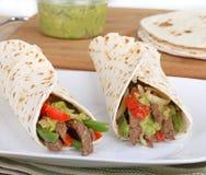 Beef Fajitas Stock Images