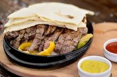 Beef Fajitas Stock Photos