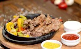 Beef Fajitas Royalty Free Stock Image