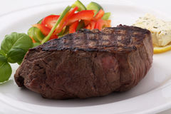Beef Filet Steak Royalty Free Stock Images
