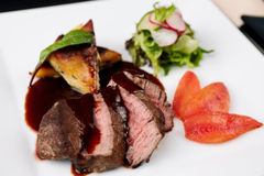 Beef fillet Royalty Free Stock Photos
