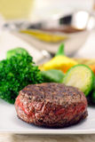 Beef fillet mignon plate Stock Photos