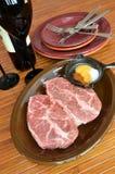 Beef Flat Iron Steak Royalty Free Stock Images